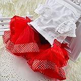 Sypure (TM) netter Bogen-Hundekleid Tutu Rock-Sommer-Welpen-Kleidung Prinzessin Dog Wedding Dress XS-XXL - 3