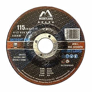 Merryland 115 X 6,0 Experten-line Schruppscheibe für Stahl Metall 10 Stück