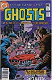 """'Ghosts' Vol.10 No.85 February 1980 (original American comic). """"We challenge you to read 'Ghosts.' New tales of the Weird and Supernatural."""""""