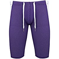 0a2db7c91d28 Freebily Men s Workout Gym Sports Fitness Running Tights Shorts Pants