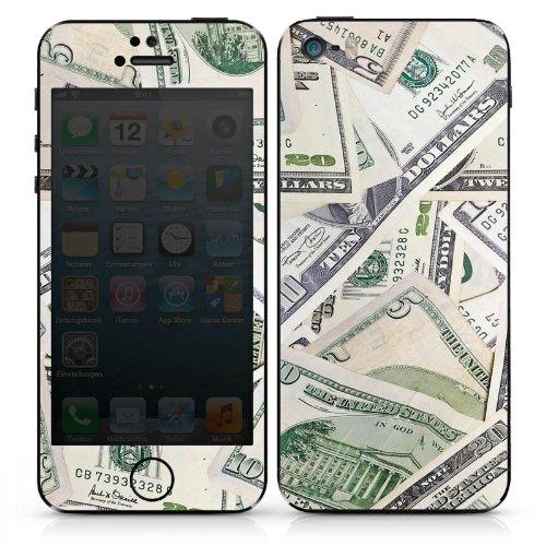 Apple iPhone 6 Case Skin Sticker aus Vinyl-Folie Aufkleber Geld Dollar Scheine DesignSkins® glänzend