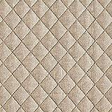 Fabulous Fabrics Steppstoff Melange – beige — Meterware ab 0,5m — zum Nähen von Jacken und Mänteln