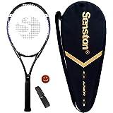 Senston Racchetta da Tennis da 27'' con Custodia Premium per Il Trasporto, Set di Racchetta da Tennis, Include 1 Overgrip + 1