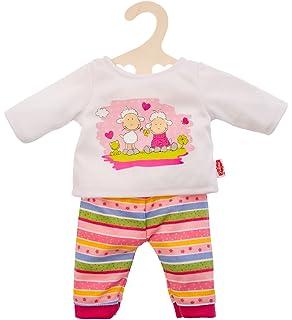 Kleidung & Accessoires Babypuppen & Zubehör Trendiges Strickkleid Hearty 35-45cm Puppen-Kleidung Zubehör Kleid Heless 2533