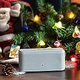 DOSS SoundBox- Touch Kabellose Portabler Bluetooth Lautsprecher mit unglaublicher 12-Stunden Spielzeit & Sensitive-Touch Wireless 12W Speakers mit TF Karte Funktion und Reinem Bass - 6