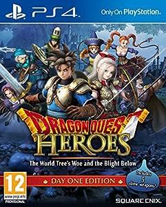 Dragon Quest Heroes: Malheur de l'Arbre du Monde et The Blight Ci-dessous - Day One Edition (PS4)