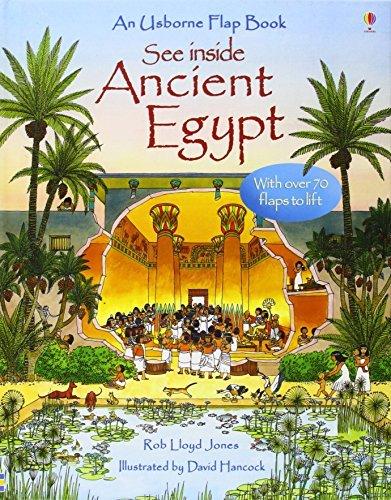 Egypt (See Inside) (Usborne See Inside) by Rob Lloyd Jones (October 31, 2007) Hardcover