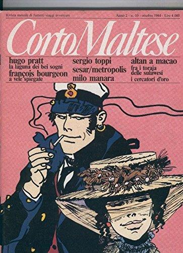 Corto Maltese anno 2 numero 10, octubre 1984
