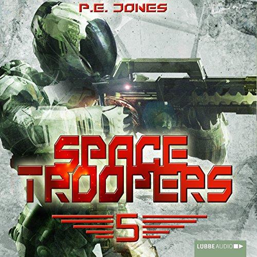 Buchseite und Rezensionen zu 'Die Falle (Space Troopers 5)' von P. E. Jones