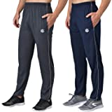 eKools® Plain Trackpants for Men   Plain Trackpants   Basic Trackpants   Two Side Pockets with One Zip Pocket for Phone   100