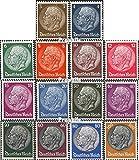 Prophila Collection Deutsches Reich 482-495 (kompl.Ausg.) 1933 Hindenburg,WZ.2 (Briefmarken für Sammler)