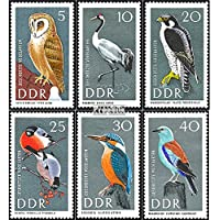 DDR 1272-1277 (completa.Problema) 1967 Uccelli (Francobolli ) - Francobolli Uccelli