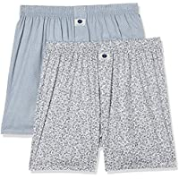 Amazon Brand - Symbol Men's Printed Boxers (Pack of 2)(SYMBXPO2-16_3246 & 3502_Multicolor_X-Large)