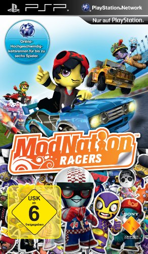 Psp Rennspiele (ModNation Racers)