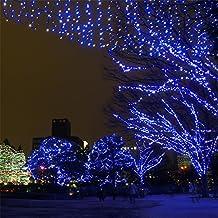 Samoleus 200 LED 22M Luci Della Stringa Di Natale, Catene Luminose Da  Esterno IP44 Impermeabile