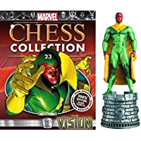 Figura de Ajedrez de Resina Marvel Chess Collection Nº 23 Vision