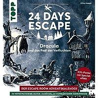 24 DAYS ESCAPE – Der Escape Room Adventskalender: Dracula und das Fest der Verfluchten: 24 verschlossene Rätselseiten…