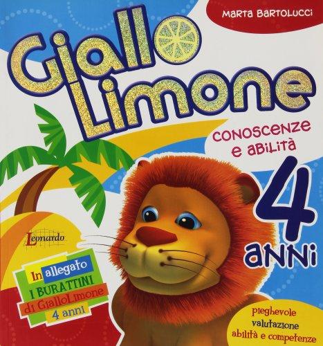 Giallo limone 4 anni