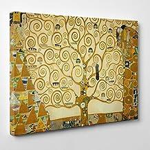 ConKrea – Cuadro sobre lienzo, listo para colgar, diseño de «El árbol de