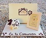 Regalo de Primera Comunión precioso con Libro de Comunión hecho a mano y personalizado con el...