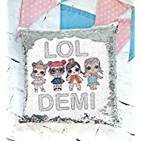 LOL personalised cushion cover, lol gift, lol surprise dolls, lol surprise