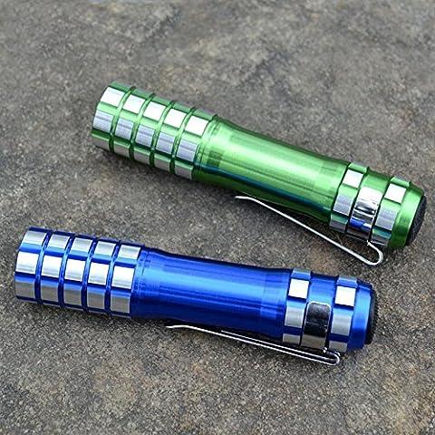 MEIYOOutdoor 5W piccola torcia cintura clip mini portatile LED luce, 5a AA autodifesa donna casa , color random