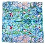 Nella-Mode bezauberndes SEIDENTUCH Seidenschal nach Claude Monet