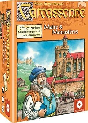 Asmodee - Jeu de Stratégie - Carcassonne