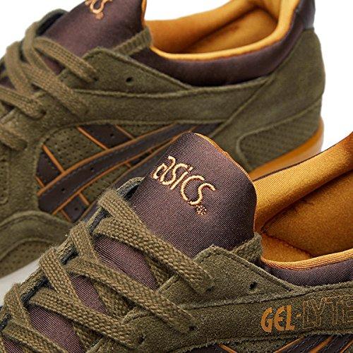 Asics Gel-Lyte V Unisex-Erwachsene Sneaker Olive/Dunkelbraun (8662)