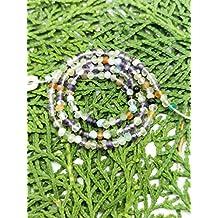 Prime vendita su Amazon Powered by gioiello perline per 1fili con gemme naturali 3mm micro sfaccettato rondelle lungo 34,3cm.
