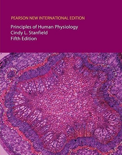 Principles of Human Physiology/Interactive Physiology 10-System Suite CD-ROM (Component) by Cindy L Stanfield (2013-08-08)