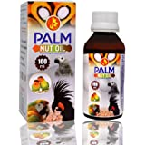 Pet Care International (PCI) Palm Nut Oil to Provide Healthy Feathers & Omega in Diet for Healthy Bird Wings & Healthy Life (