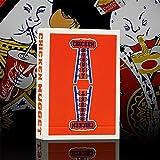 SOLOMAGIA Chicken Nugget Playing Cards - Red - Kartenzauber - Zaubertricks und Magie