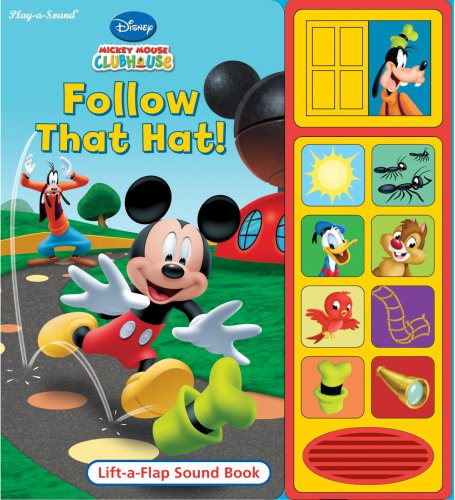 Follow That Hat! (Disney Mickey Mouse Clubhouse)