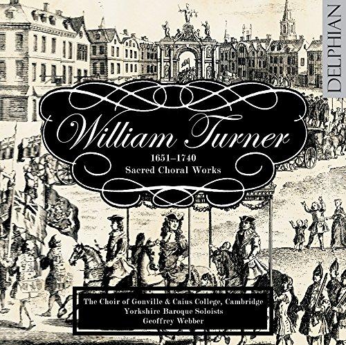 Turner / Sacred Choral Music