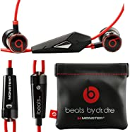 Monster Beats by Dr Dre iBeats 3.5mm Wired Headset In Ear Stereo Music Headphones Smart Phone Earphone Hands-free with Microp