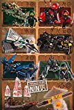 Close Up The Lego Ninjago Movie Poster Ninjas & Mechs (61cm x 91,5cm) + Ü-Poster