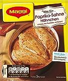 Maggi Fix für Paprika Sahne Hähnchen - mit feiner Zwiebel und Speck-Note - Einfach aus dem Ofen - 3 Portionen, 31 g