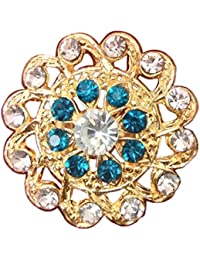 Traditional & Ethnic Gold Plated Finger Ring For Women By Haryana Craft - B0782HKVW6