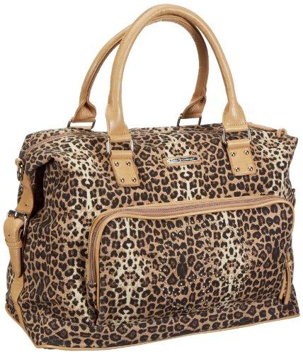 Friis & Company Maison Weekendbag - Sand 1310254, Damen Messengertaschen, Mehrfarbig (Multicolour), 45x30x25 cm (B x H x T)