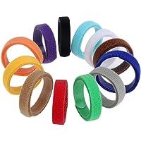 GTIWUNG 12 Colori Collarini Regolabili Collare Cucciolo Cane Collare Gattino Collare Colorato Flessibile di Tessuto…