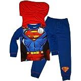 Superman Pijama infantil de con capa Para Niños