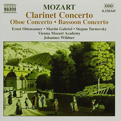 Mozart Oboen-, Fagott und Klarinettenkonzerte