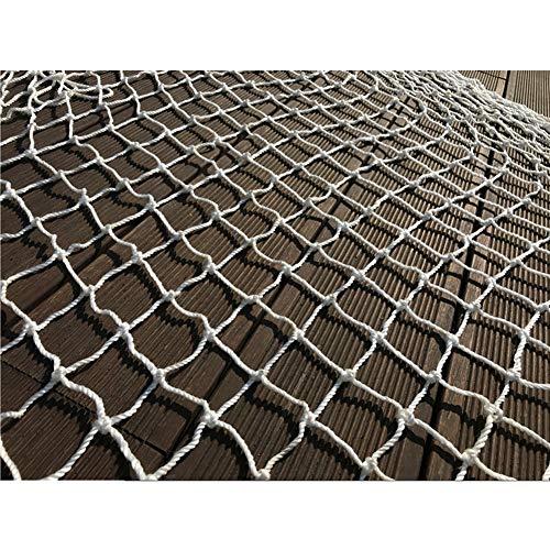 Hwt Tarnnetz Netting Badminton Net Netze Lichter Zubehör for Innendekoration Outdoor-Aktivitäten Weiß 10cm Mesh (Size : 5 * 5M)