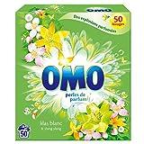 Omo Lessive Poudre Lilas Blanc 50 Lavages