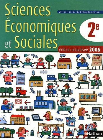 Sciences Economiques et Sociales 2e