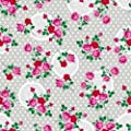 Klebefolie - Möbelfolie - Dots & Flowers silver - 45 x 200 cm - Dekorfolie von gekkofix bei TapetenShop
