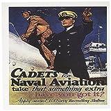 3drose Vintage Cadets für Naval Aviation US Navy Recruiting Poster–Grußkarten, 15,2x 15,2cm, Set 12(GC _ 149422_ 2)