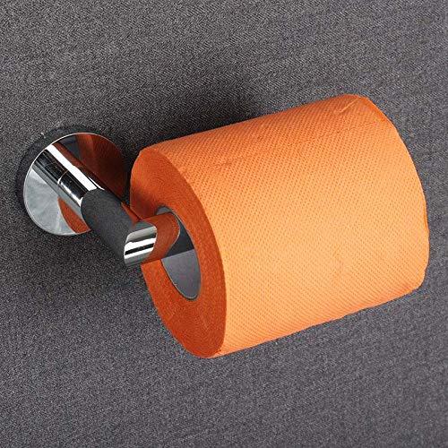 S-Senrohy Euro Silber Bad-Accessoires aus massivem Messing Chrom Toilettenpapierhalter Rollenhalter -