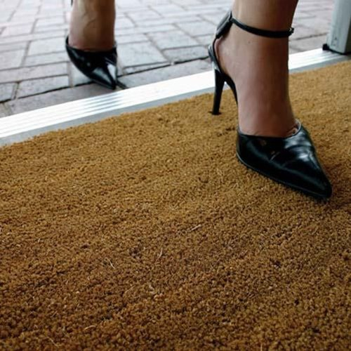 COIR COCONUT ENTRANCE MATTING MAT 1m & 2m Wide